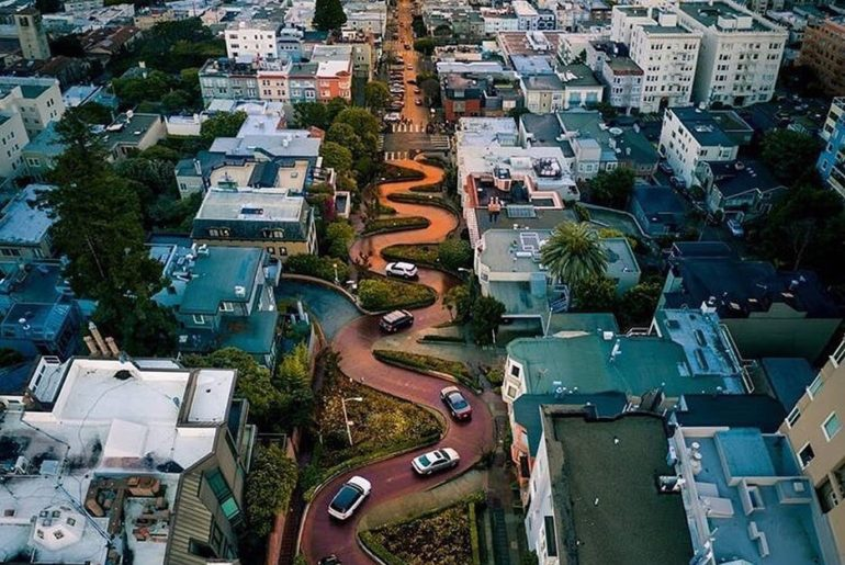 This street is CRAZY! Can't believe someone designed it quite like this. Another...