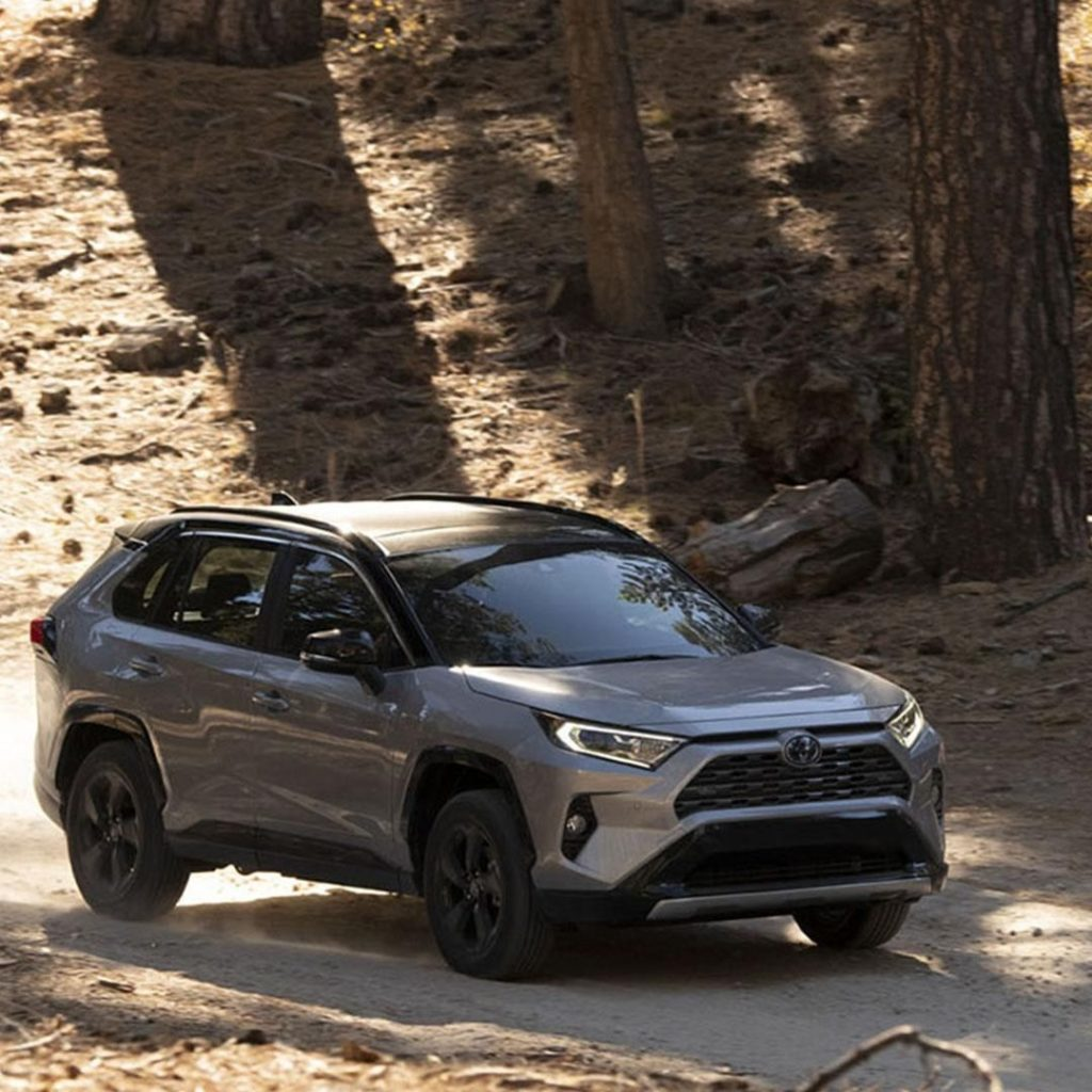 On or off-road the #RAV4 Hybrid handles it all! #LetsGoPlaces...