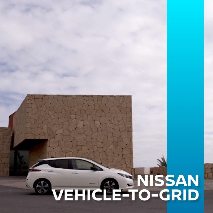 In Germany, the #NissanLEAF is being used as a reserve for the electricity grid,...
