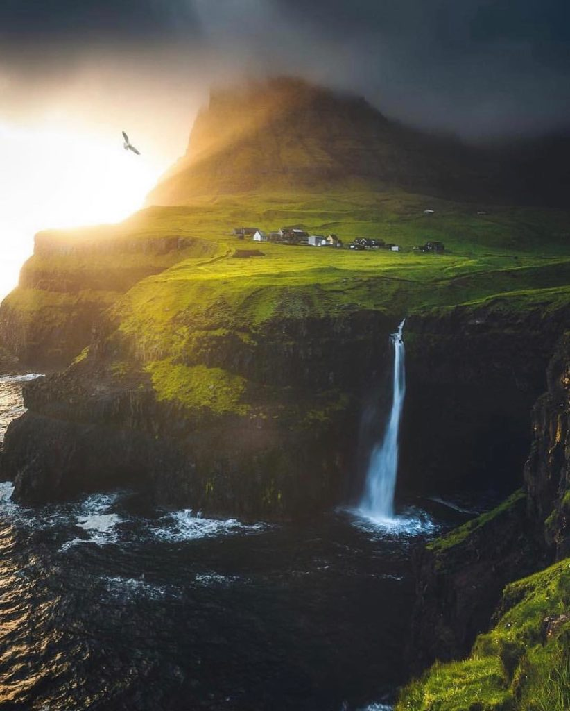 Unbelievable shot from the Faroe Islands. The mood in this image is just phenome...