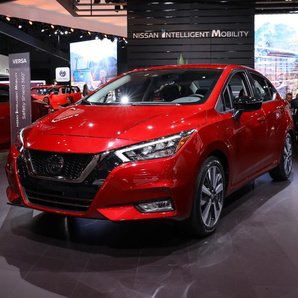 Arriving stateside for the first time this week, the all-new 2020 #Nissan #Versa...