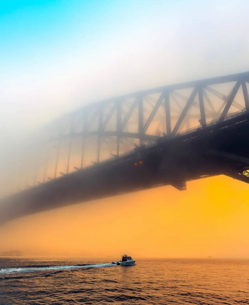 Foggy sunrise in Sydney captured beautifully by @theinkedshooter  Sydney #Sydney...