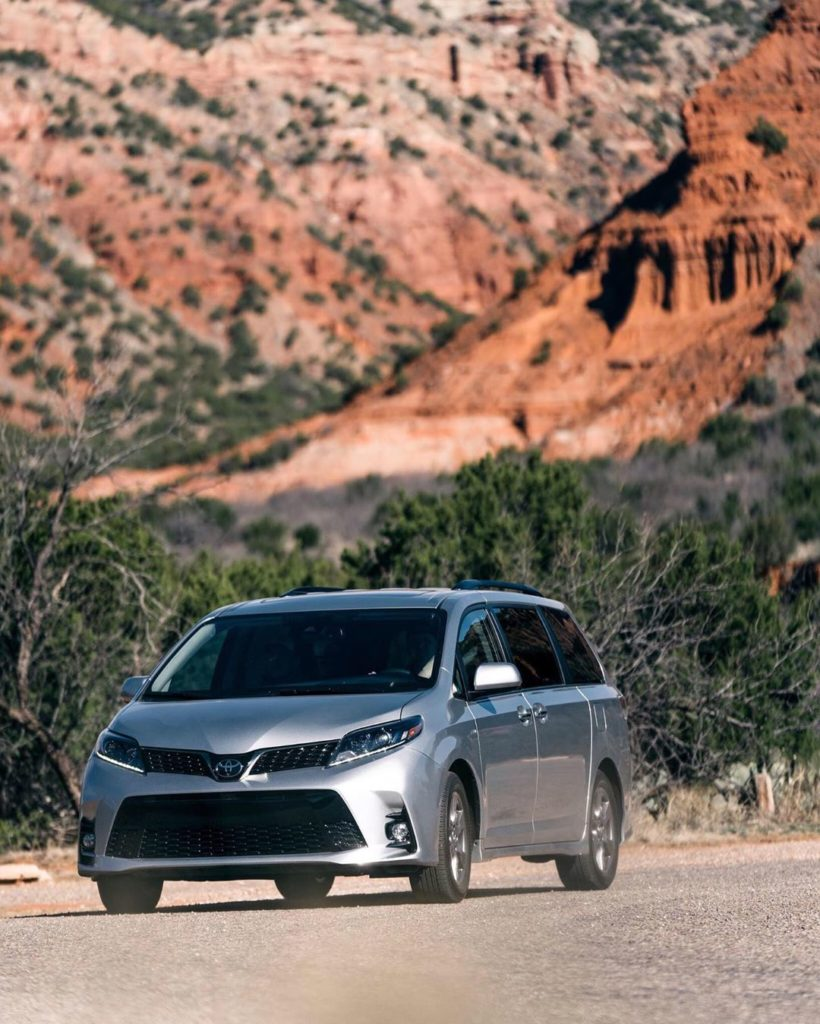 Capable of any adventure you dream up. #Sienna #LetsGoPlaces #VanLife...