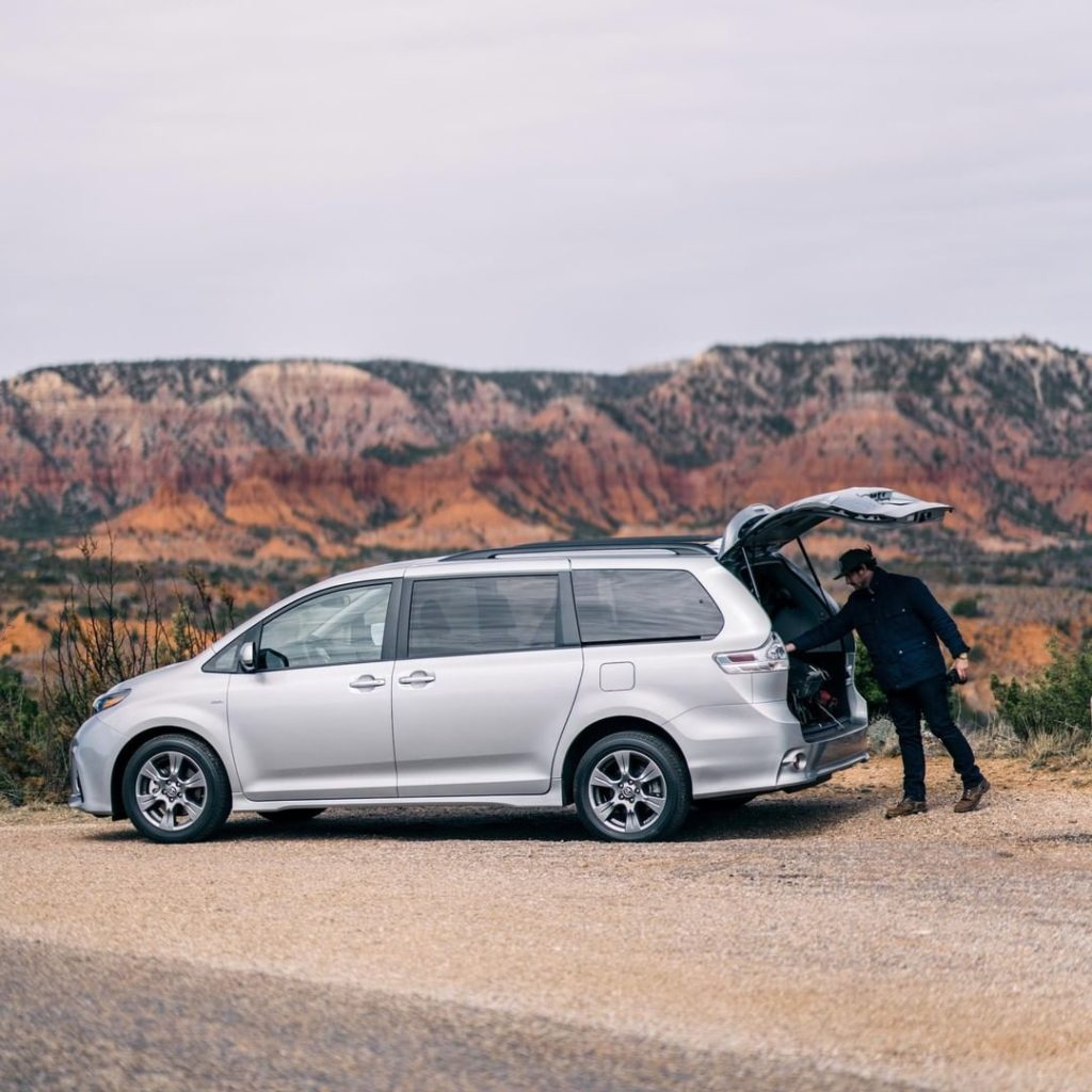 Space for everything you need to explore wide open spaces. #Sienna #LetsGoPlaces...
