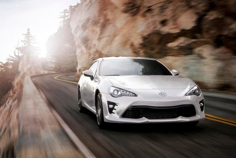 #Toyota86's advanced chassis has been engineered to optimize the center of gravi...