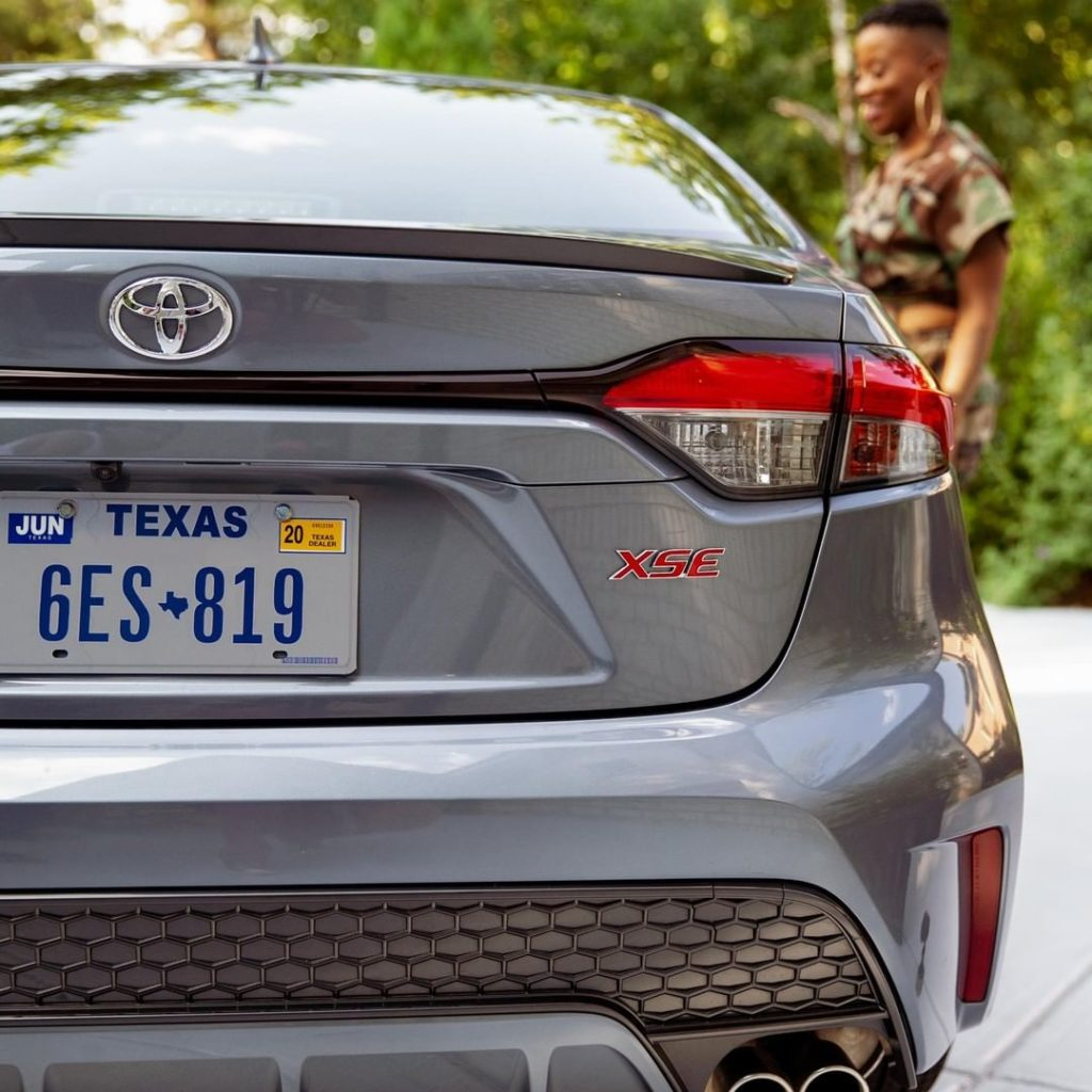 The sporty design of the 2020 #Corolla is sure to make an impression when you ar...