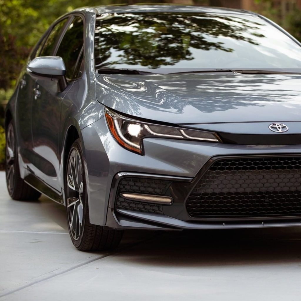 The LED daytime running lights always gives the 2020 #Corolla a powerful look....
