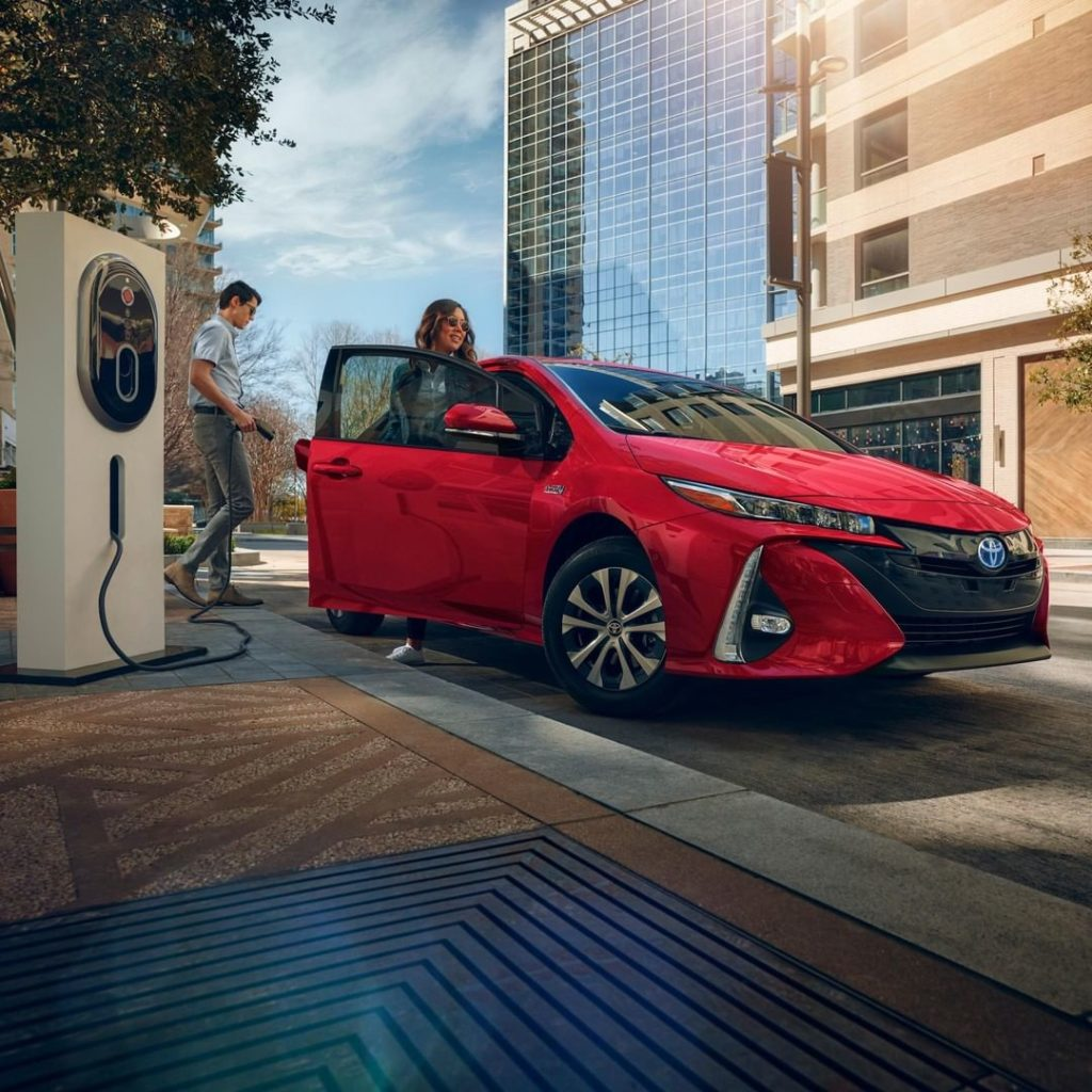 Plug-in to possibilities! #Prius Prime #LetsGoPlaces...