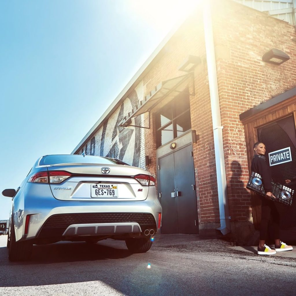 Outside of your comfort zone is where the real ride begins. #Corolla #LetsGoPlac...