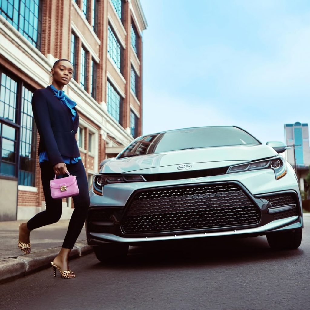 The sport mesh grille on the 2020 #Corolla demands everyone's attention. #LetsGo...