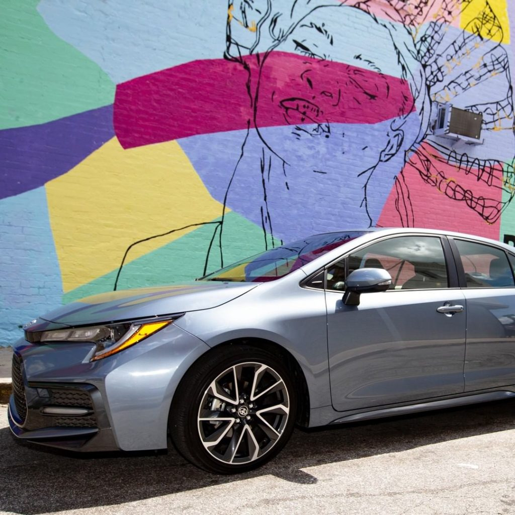 Live boldly and create your own lane in the 2020 #Corolla. #LetsGoPlaces...