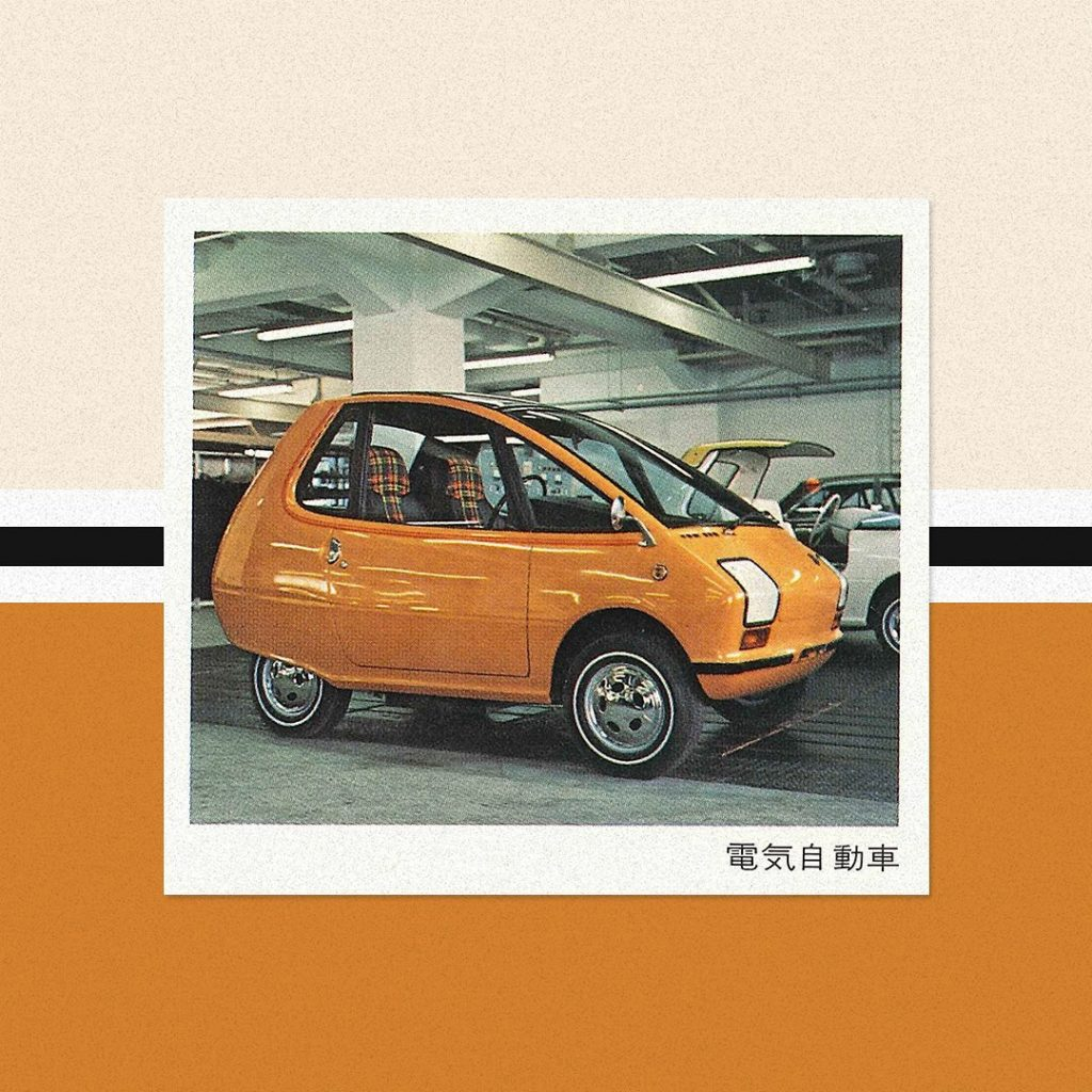 In #1970, #Nissan exhibited a pure electric 315X 2-seater concept car at #TokyoM...