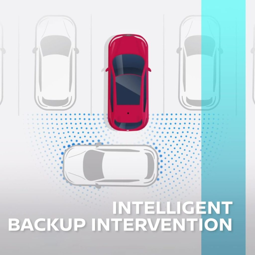 With #Nissan #IntelligentMobility, we always have your back, literally. Nissan I...