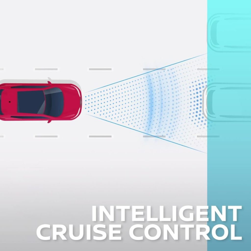 Keeping pace has never been so easy with Intelligent Cruise Control. #FutureFrid...