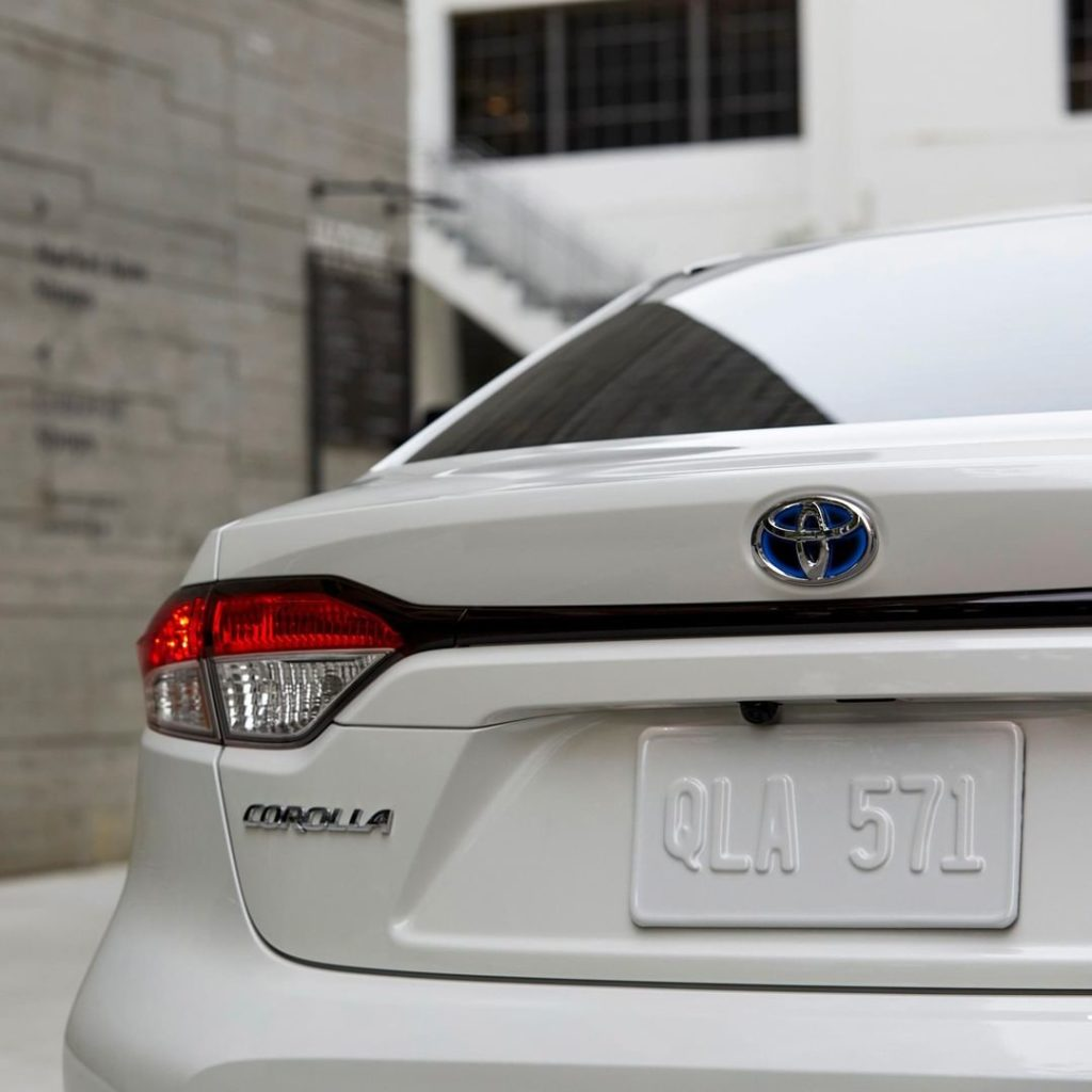 The first-ever 2020 #Corolla Hybrid has all the efficiencies of a hybrid, paired...