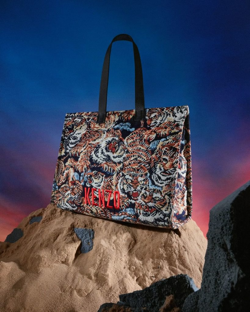 READY TO ROAR: A perfect everyday companion, the Tiger Mountain Jacquard tote ba...