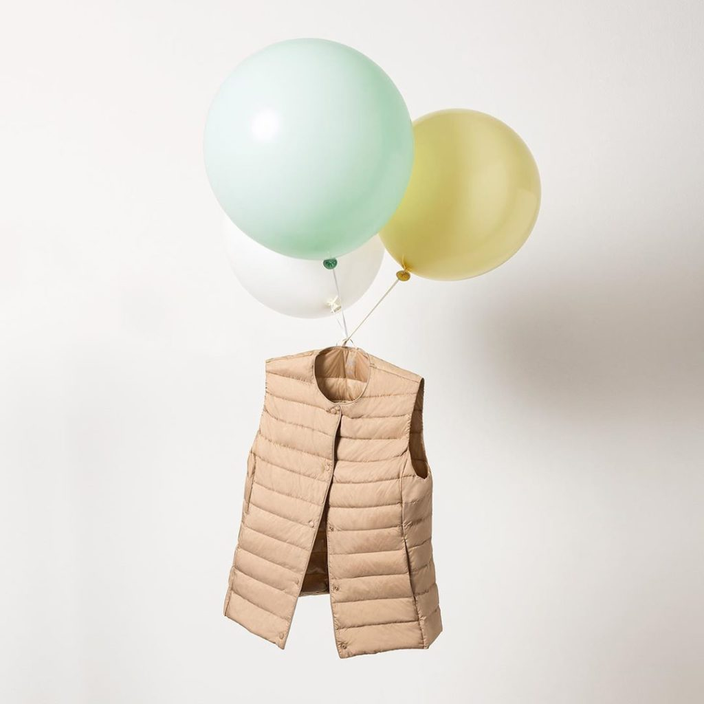 Up, up and away in the Ultra Light Down #Uniqlo #LifeWear...