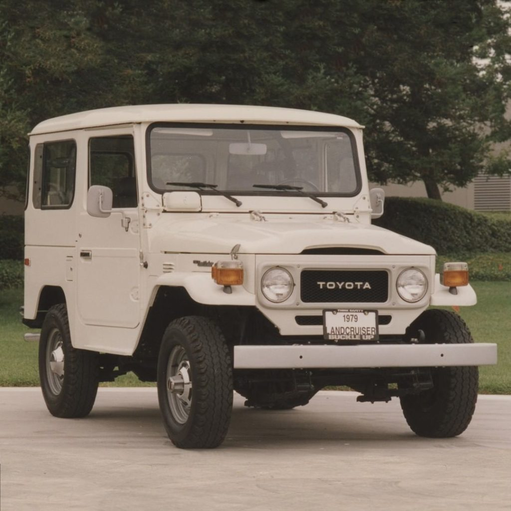 A heritage to be proud of. #TBT 1979 #LandCruiser #LetsGoPlaces...