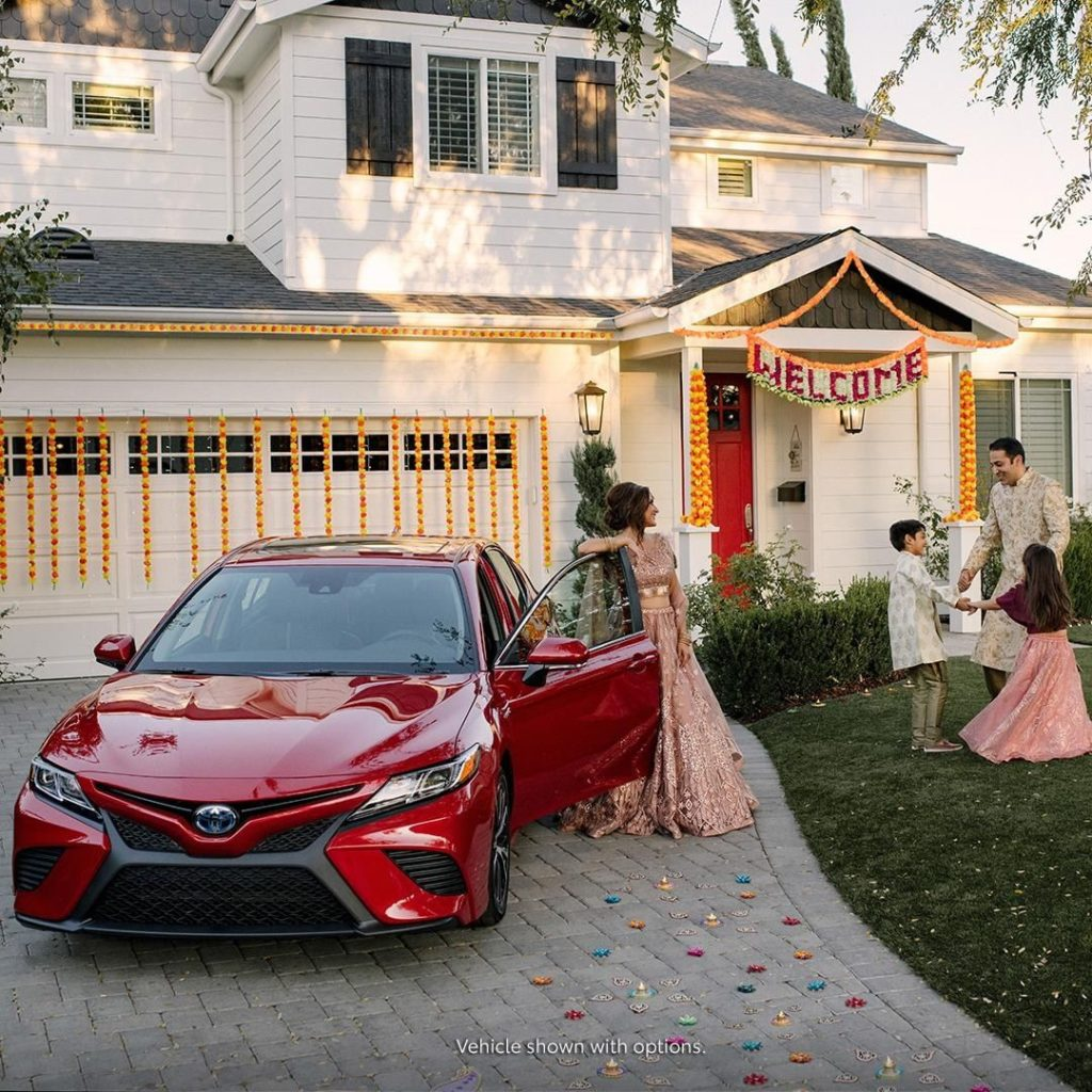 Creating memories to cherish forever. #Camry #Hybrid is along for the ride.  #Le...