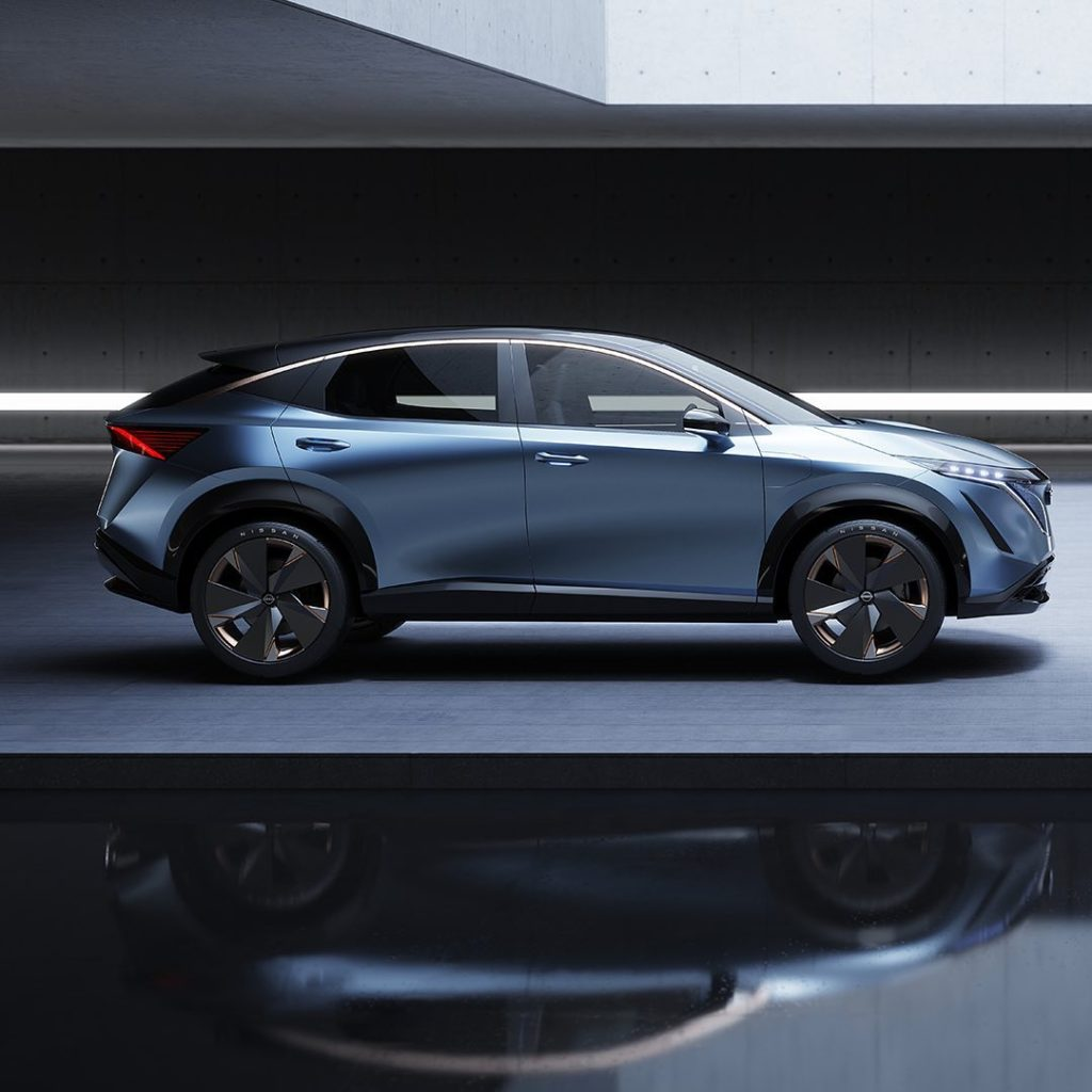 """""""Both the #Nissan #Ariya and #Nissan #IMk concepts embody the possibilities of i..."""