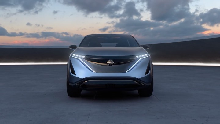 It's a new dawn with the Nissan #Ariya Concept A crossover #EV with sleek, seaml...