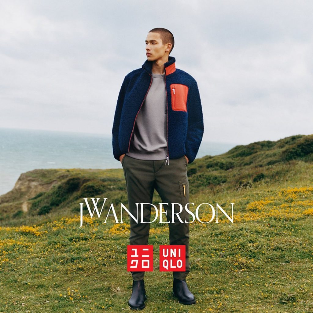 Launching today @jonathan.anderson @jw_anderson @tylersphotos #uniqlojwanderson...
