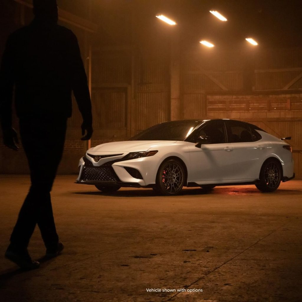 With show stopping style and performance, the new 2020 #Camry #TRD is all you ne...