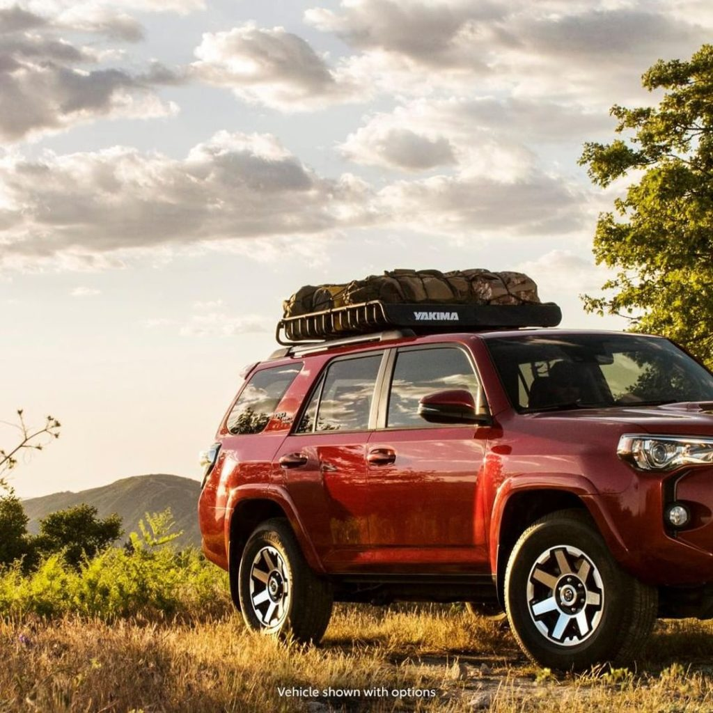 Reliability has never looked so good. #4Runner #LetsGoPlaces...