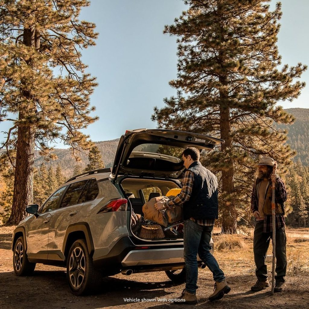 Enough cargo space to make your next adventure anything but ordinary. #RAV4 #Let...