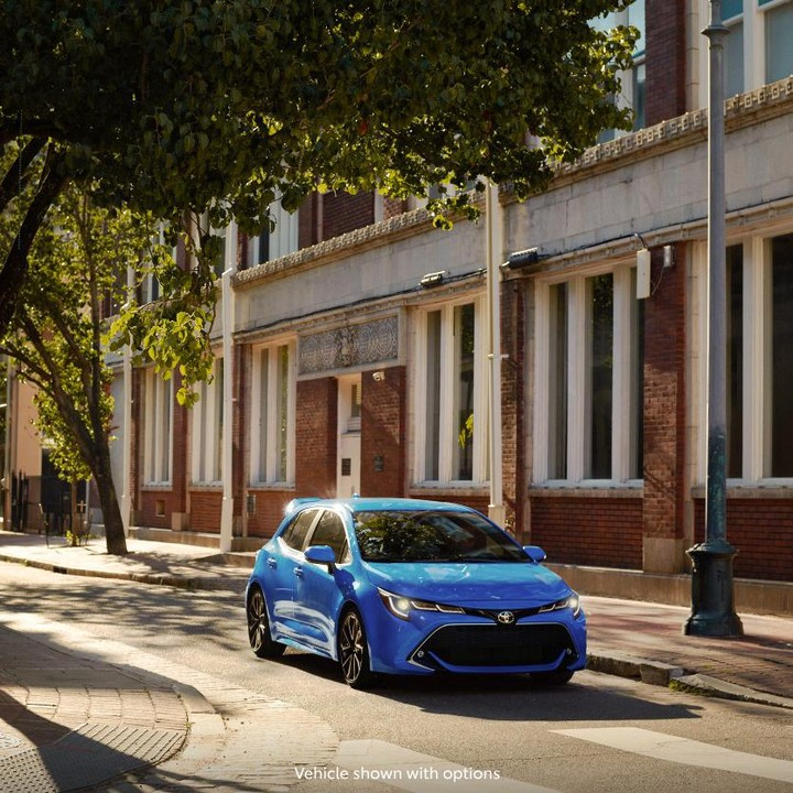 With a wider and more aggressive design, #Corolla Hatchback reminds everyone it ...