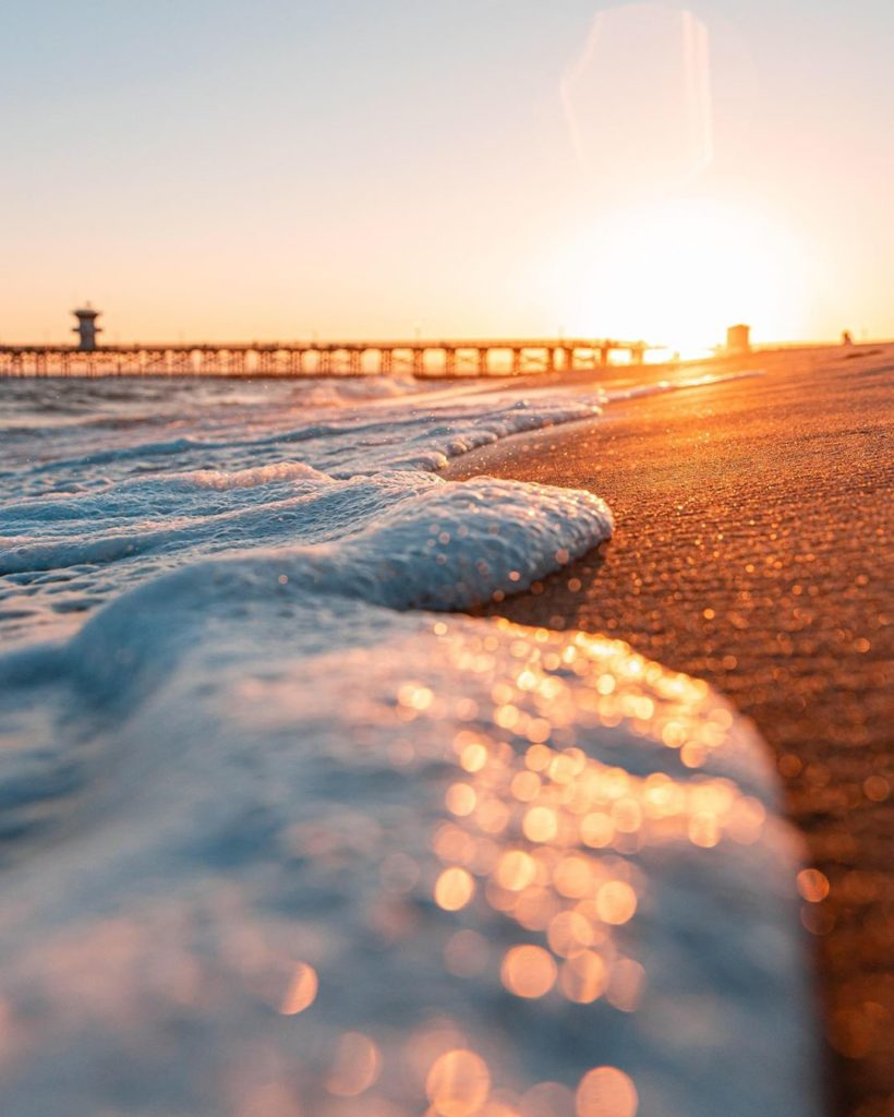 """""""Shot in Seal Beach, CA. Shooting handheld this close to waves is like doing the..."""