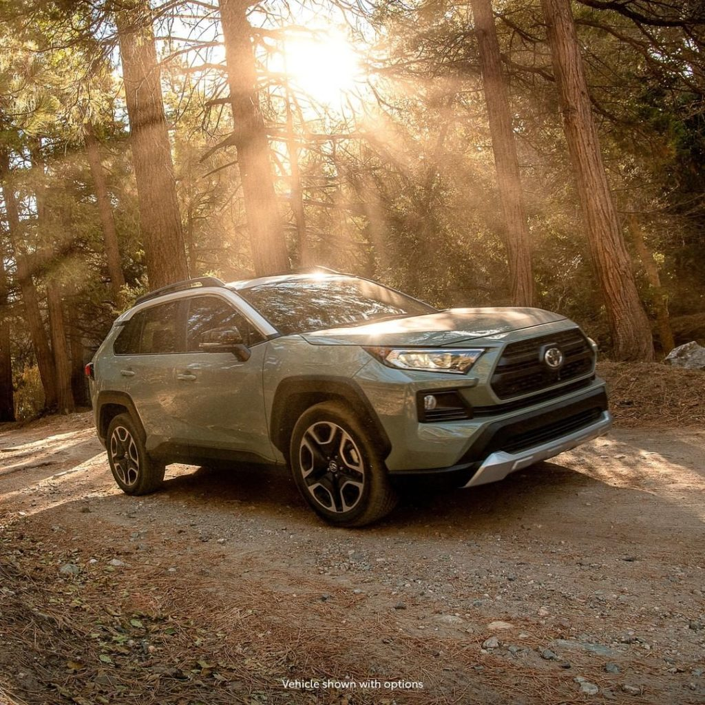 Don't be afraid to get out there and explore the possibilities. #RAV4 #LetsGoPla...