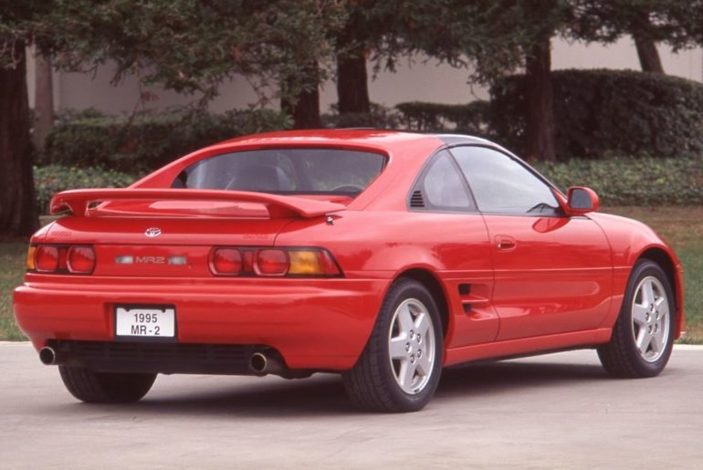 Take us back to '95! #TBT #MR2 #LetsGoPlaces...