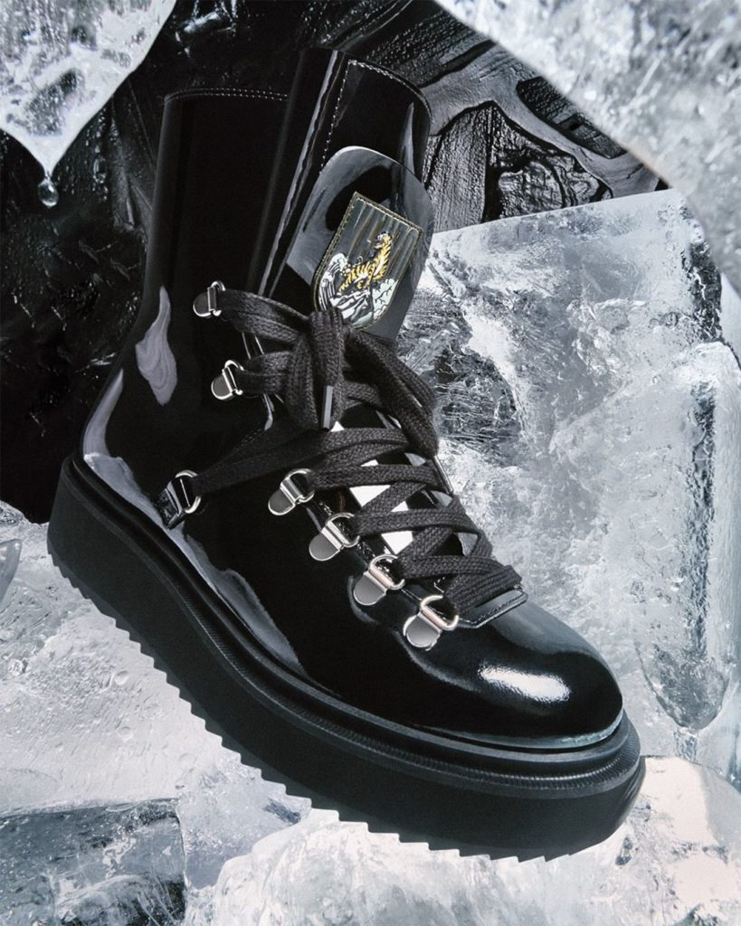 BOOTCAMP: Inspired by trekking shoes, the KENZO Alaska boot and its 'Tiger Mount...