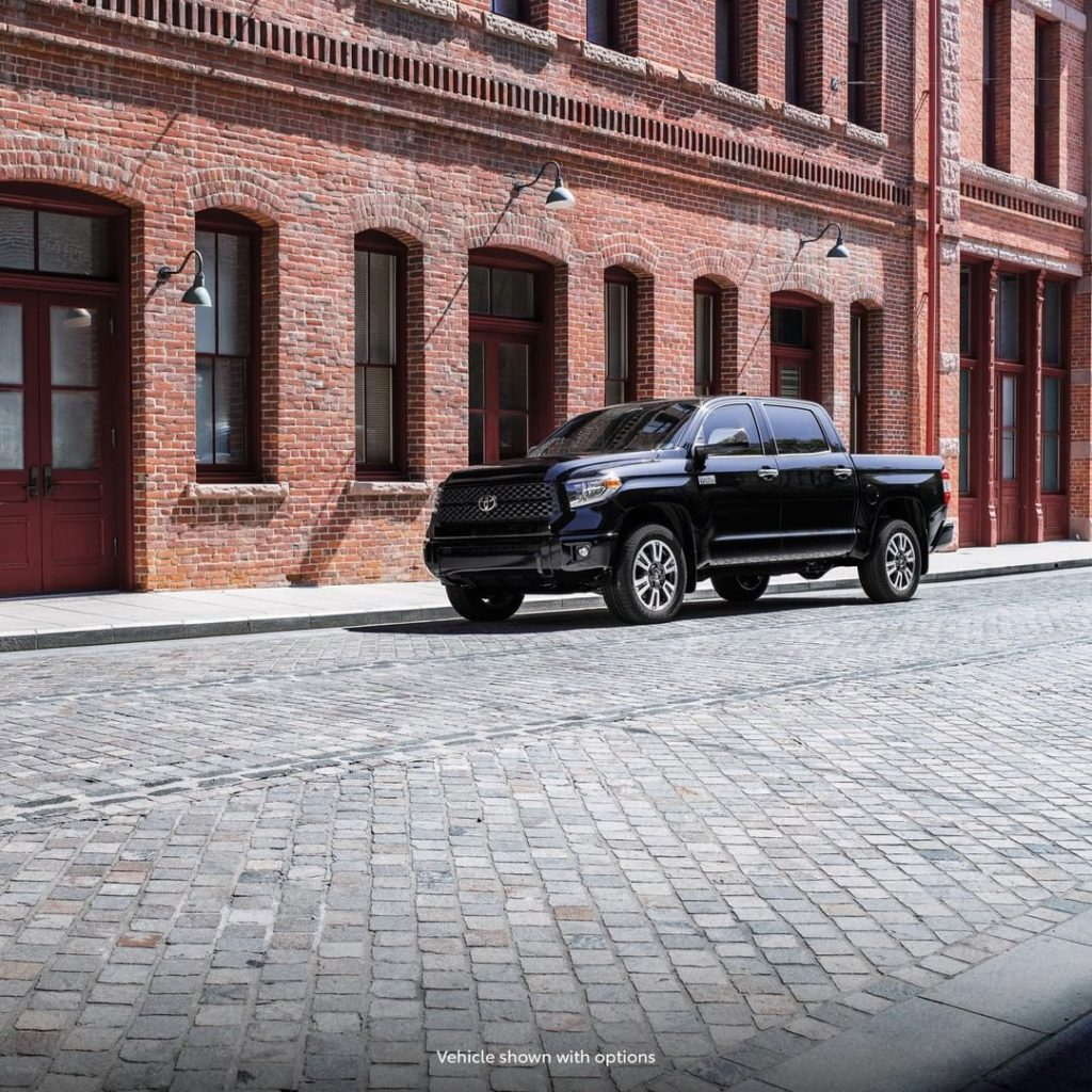 Making a statement has never been easier. #Tundra #LetsGoPlaces...
