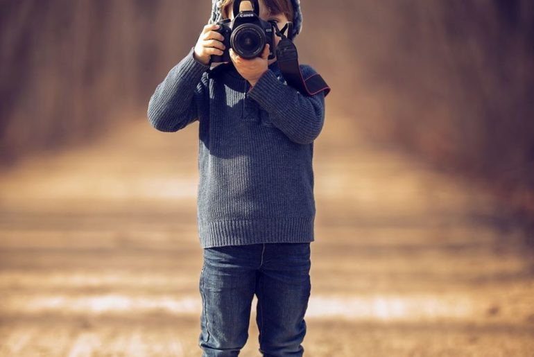 """""""My son shooting by me. When this decade started I bought my first DSLR camera, ..."""