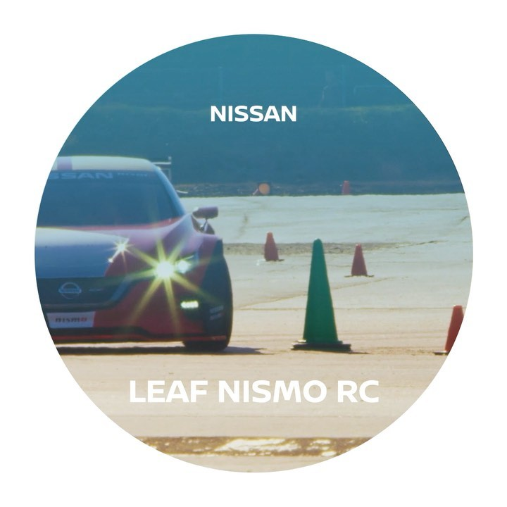 Changing the face of racing with #NissanLEAF #NISMO #RC #FutureFriday...