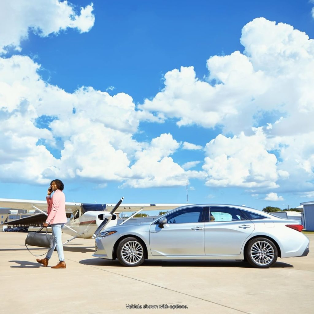 Arrive in style and fly high to new adventures. #Avalon #Hybrid #LetsGoPlaces...
