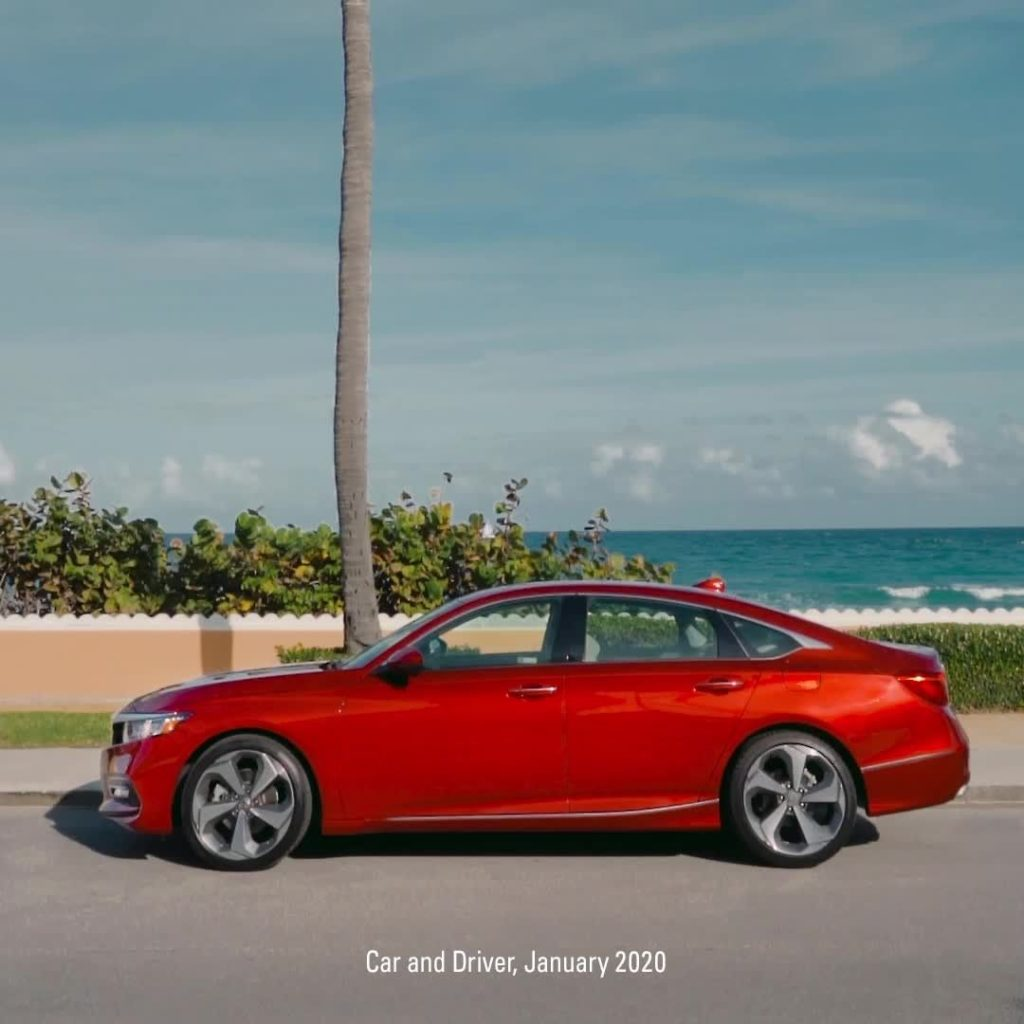 We're taking @CarandDriver's most fun to drive mid-size sedan to the place where...