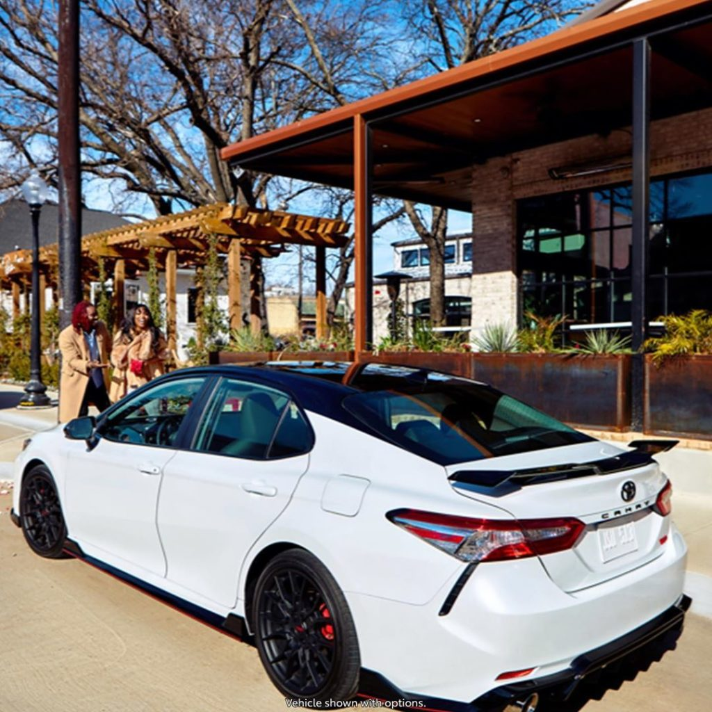 Appreciation at its finest #Camry #TRD #LetsGoPlaces #valentinesday...