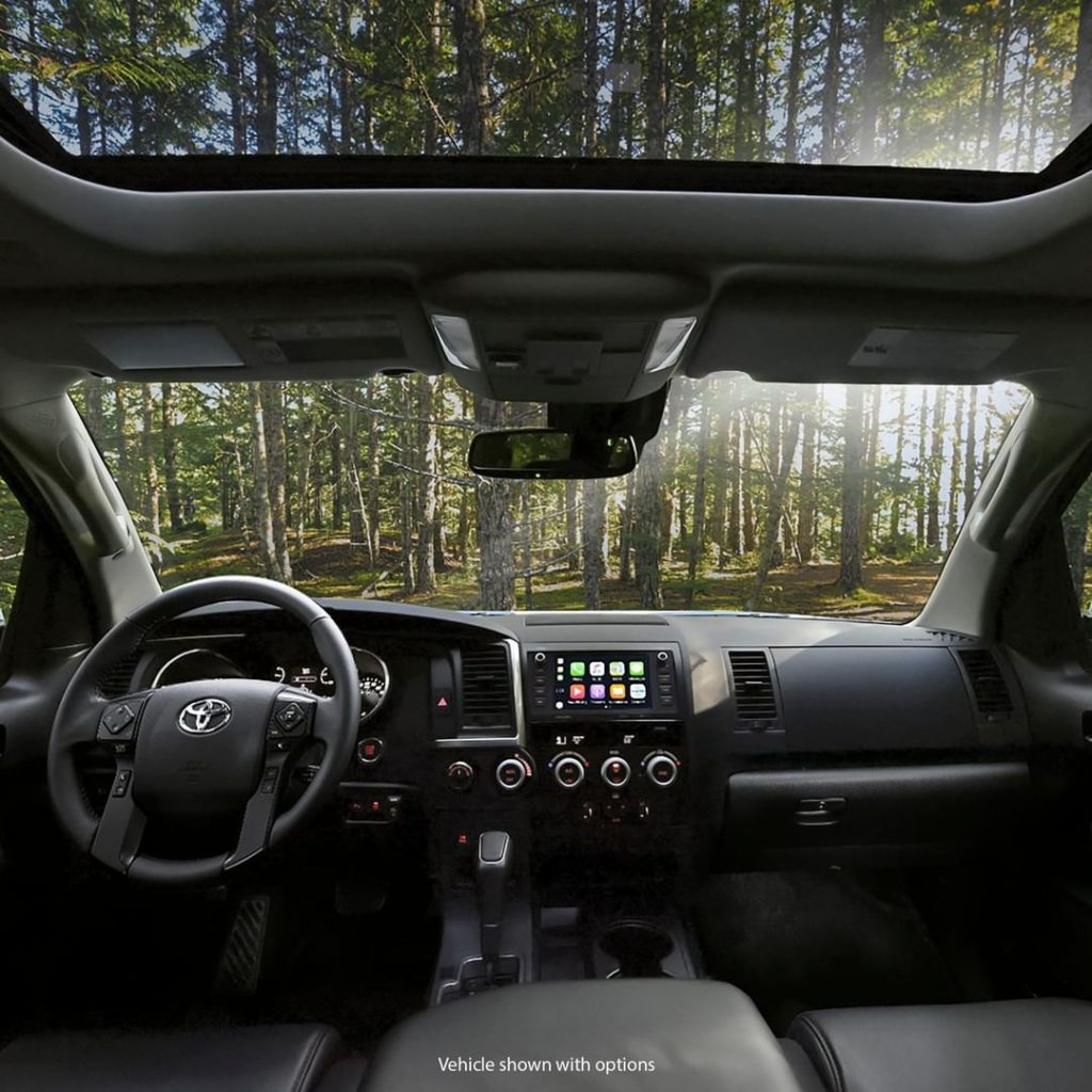 For those looking for a front-row seat to nature's beauty. #Sequoia #TRD Pro #Le...
