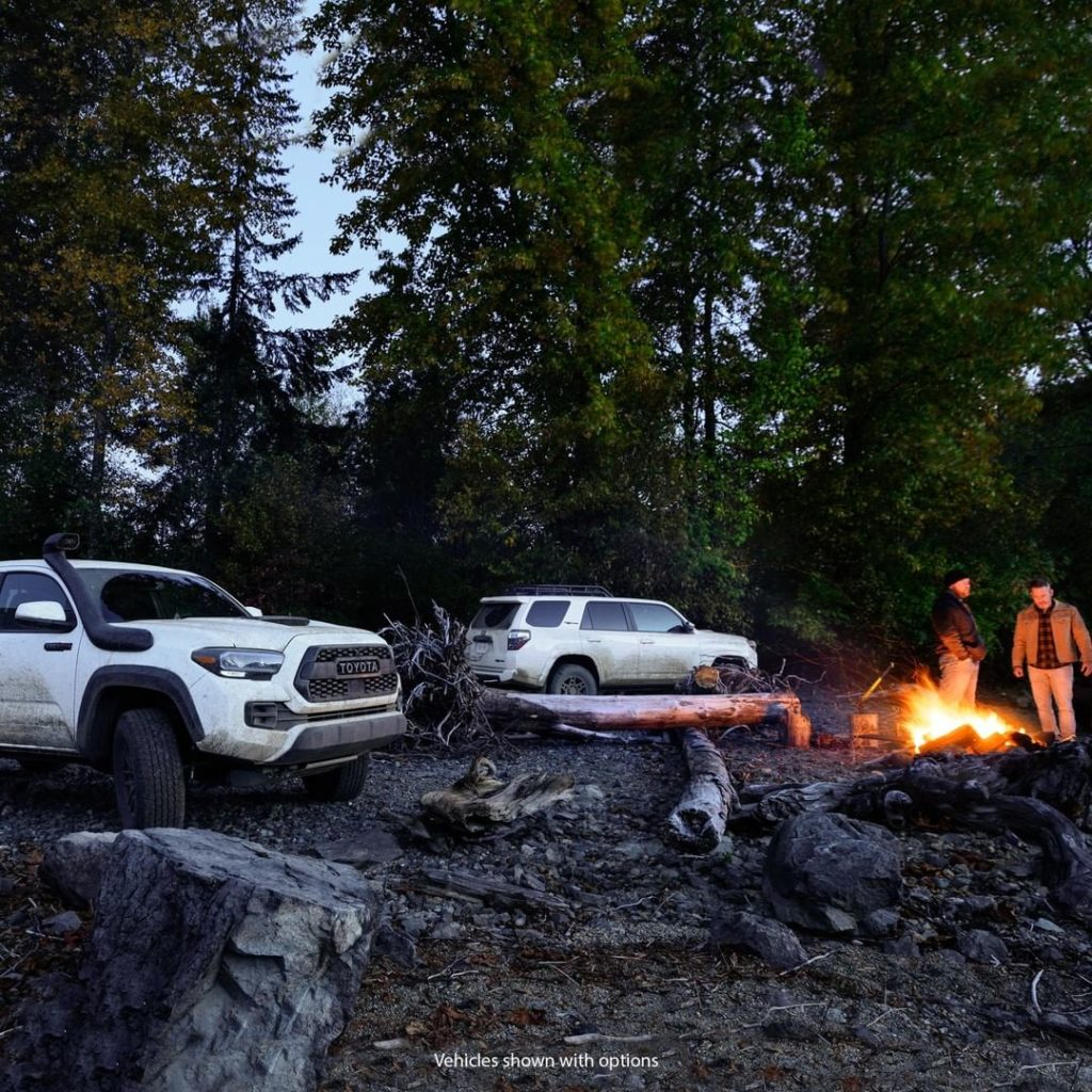 The next great campfire story is yours for the making. #Tacoma #4Runner  #TRD Pr...
