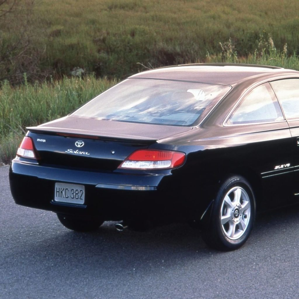 Curved, captivating and classy. That's the 1999 #Solara. #TBT #LetsGoPlaces...