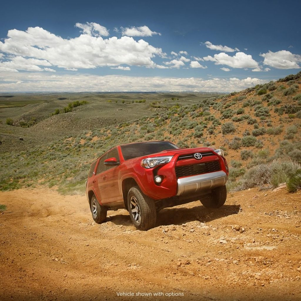 The best trails aren't known for being easy... #4Runner #LetsGoPlaces...