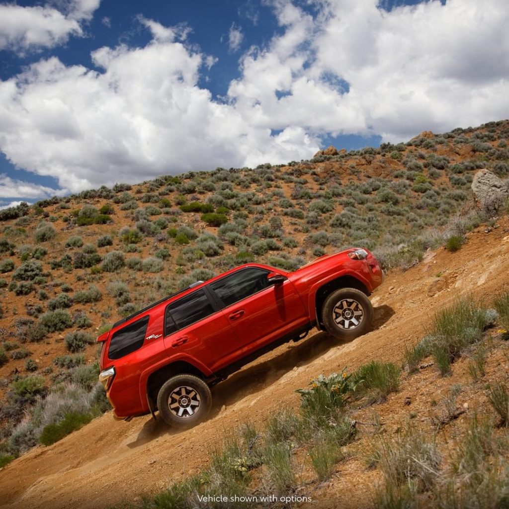 There for whenever you feel 'inclined' to explore.  #4Runner #LetsGoPlaces...
