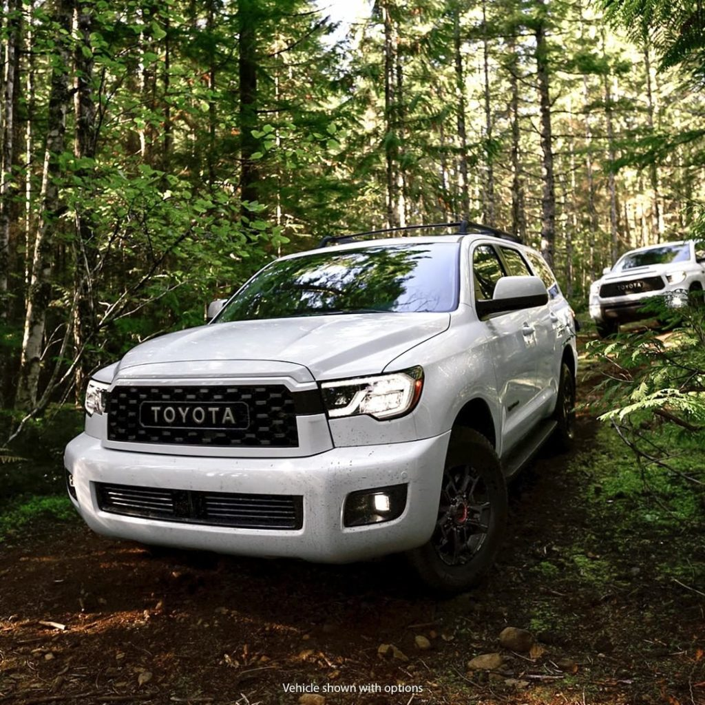 With #Sequoia #TRD Pro, venture where most never dare. #LetsGoPlaces...