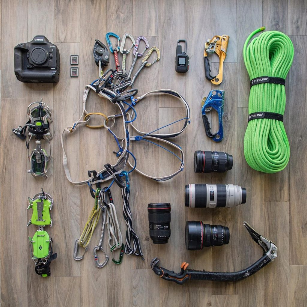 """Check out what's in #CanonExplorerOfLight @tylerstableford's gear bag! 