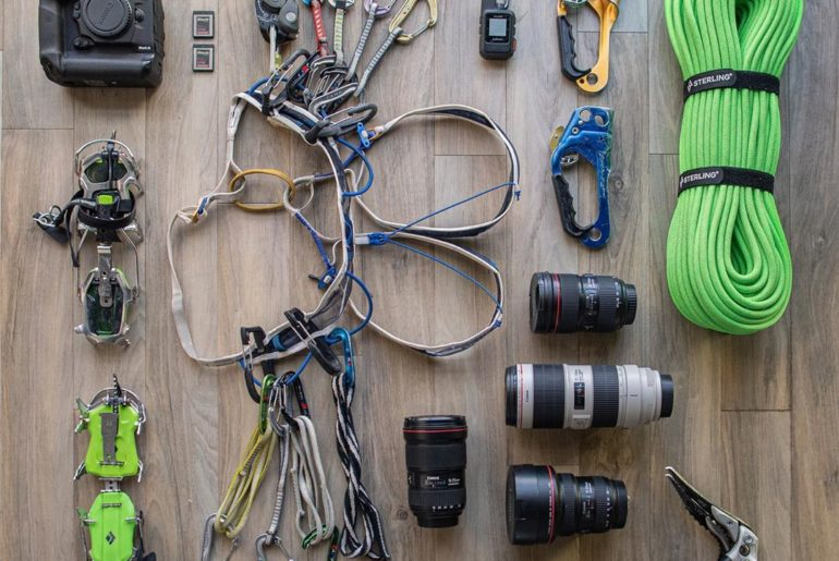 "Check out what's in #CanonExplorerOfLight @tylerstableford's gear bag! | ""When I..."