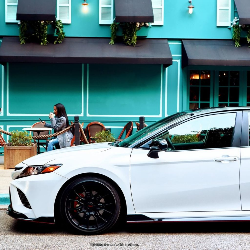 Take a break from the 9-5 life. #Camry #TRD #LetsGoPlaces...