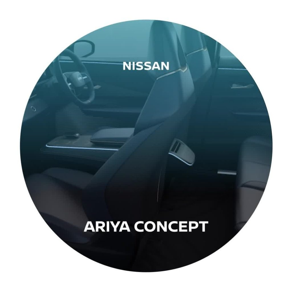 The #Ariya Concept interior reflects a timeless, modest sensibility with it's de...